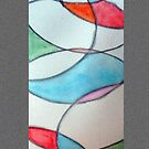 Stain Glass 3 by Loretta Nash