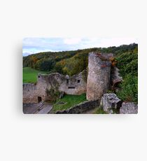 The Ruin: Burg Rötteln Canvas Print