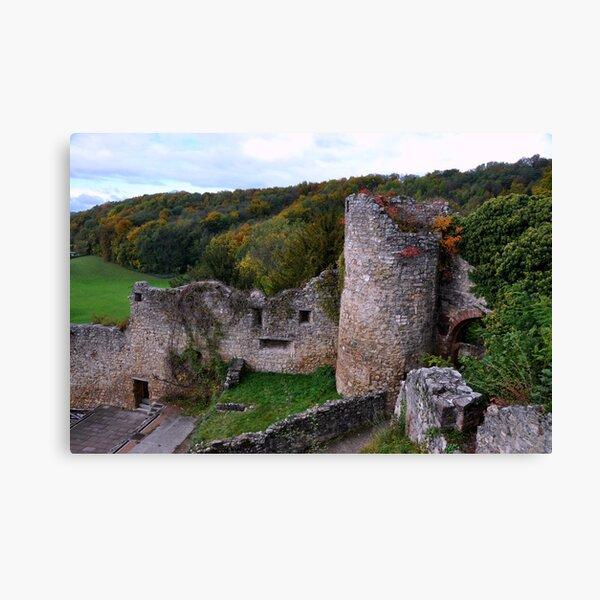 The Ruin: Burg Rötteln Canvas Print