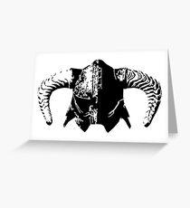 Dovahkiin's Helmet Greeting Card
