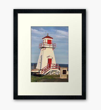 Fort Amherst Lighthouse Framed Print