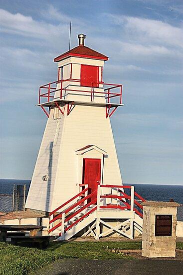 Fort Amherst Lighthouse by Leslie van de Ligt