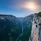 Verdon Moon by Michael Breitung