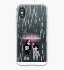 Shielding Connie From The Rain iPhone Case