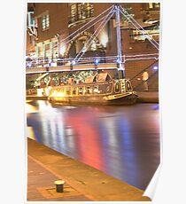Birmingham Canal Poster