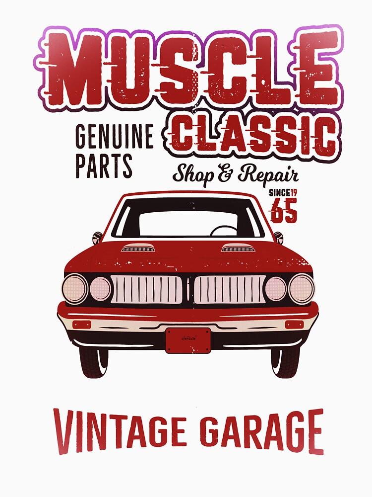 Classic Car Repair by printsandpillow
