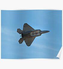 F-22 Bomb Doors Open Poster