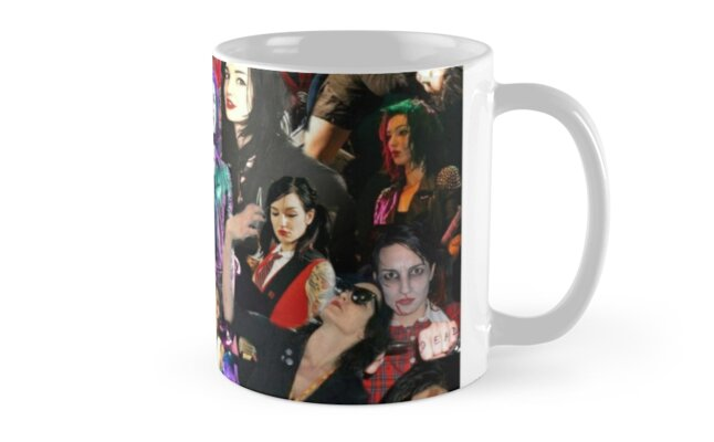 lynz way collage mugs by harrietly redbubble