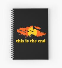 Apocalypse Now: This is the end Spiral Notebook