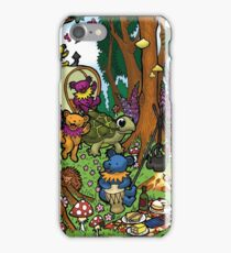 Grateful Dead Dancing Bears - Teddy Bear Picnic iPhone Case/Skin