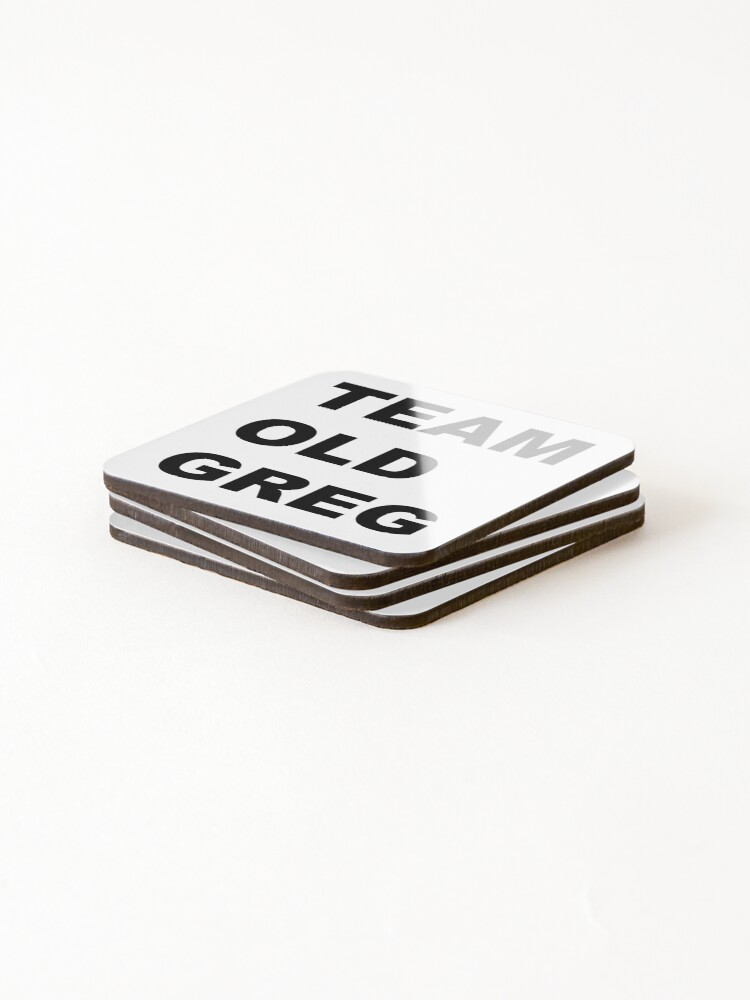 Alternate view of Team Old Greg Crazy Ex Girlfriend Fan art  Coasters (Set of 4)
