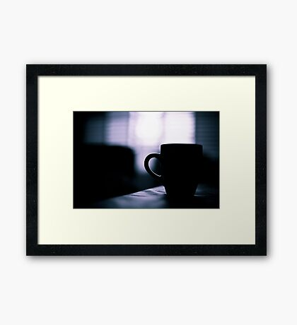 morning coffee II Framed Print