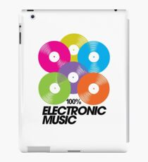 100% Electronic Music iPad Case/Skin