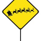 Caution...Flying Reindeer Ahead! by Kristi Bryant