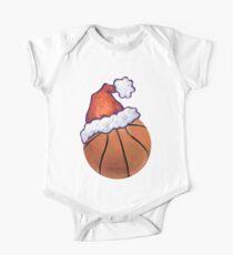 Basketball Christmas One Piece - Short Sleeve