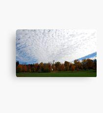 Cloudy Stucco Canvas Print