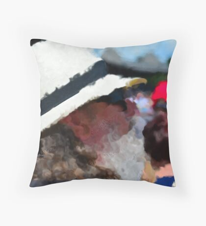 An Impression Throw Pillow