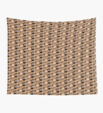 Architectural Detail of an Old Building in Fresno California Wall Tapestry