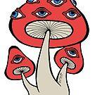 Mushroom Eyes by Brett Gilbert