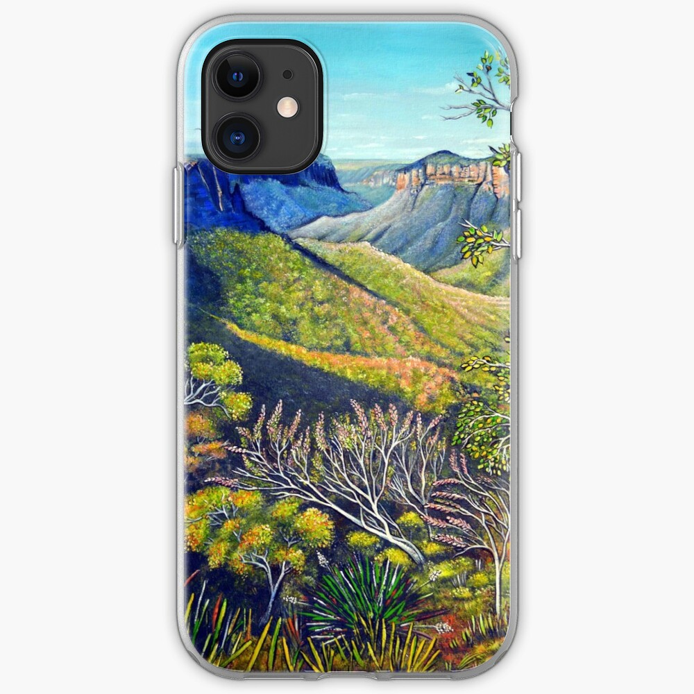 Govetts Leap Lookout, Blue Mountains iPhone Case & Cover