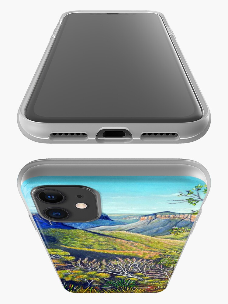 Alternate view of Govetts Leap Lookout, Blue Mountains iPhone Case & Cover