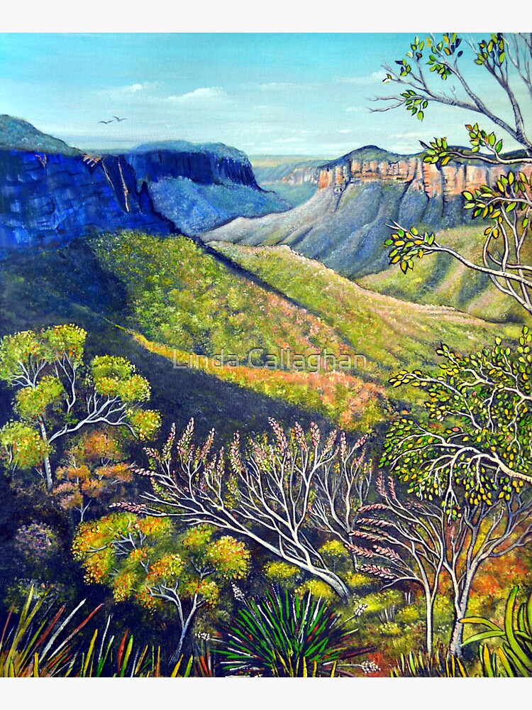 Govetts Leap Lookout, Blue Mountains by LindArt1