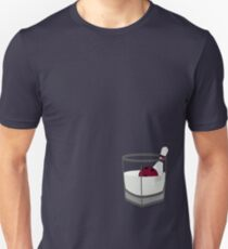 Hey, careful, man, there's a beverage here! Unisex T-Shirt