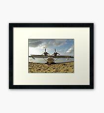 Flying boat Framed Print