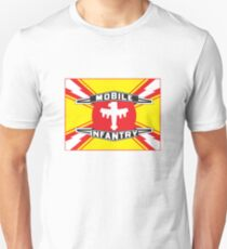 Mobile Infantry Flag Slim Fit T-Shirt