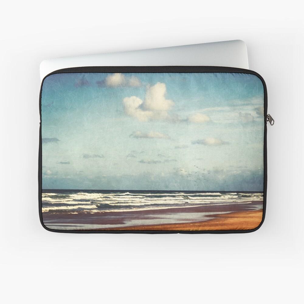 Beach - a photo painting Laptop Sleeve
