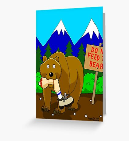 Welcome to Montana Greeting Card