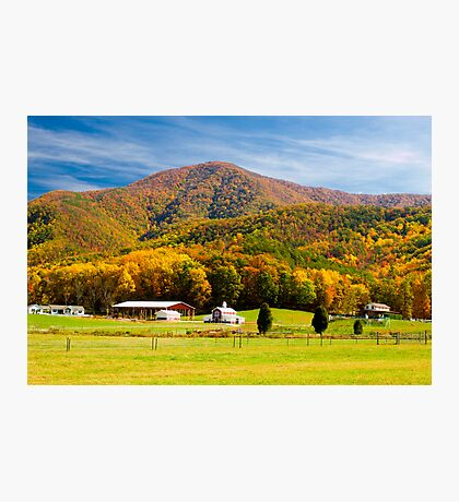 House on the Hill! Photographic Print