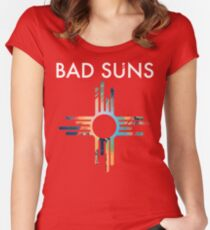 Bad Suns Women's Fitted Scoop T-Shirt