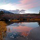 Autumn sunset in Colorado by bberwyn