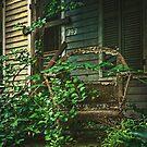 Wicker Chair by Debra Fedchin
