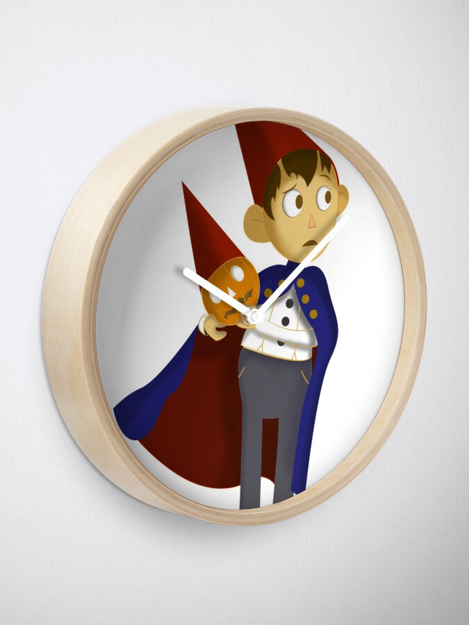 Alternate view of Over the Garden Wall Wirt Halloween Pumpkin Clock