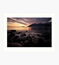 Sunset in the Arctic-II Art Print