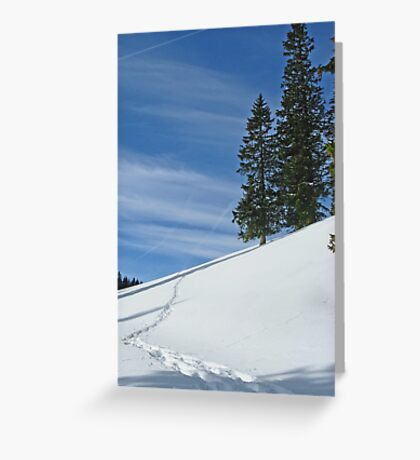 Alps 2 Greeting Card