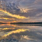 Reflective Mood - Narrabeen Lakes, Sydney - The HDR Experience by Philip Johnson