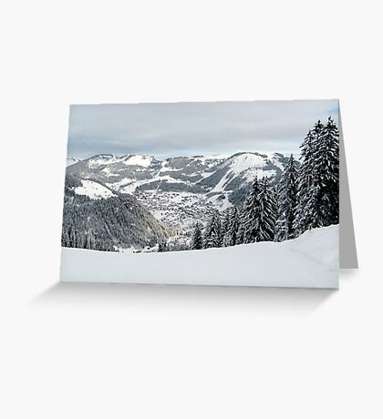Alps 3 Greeting Card