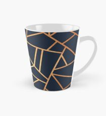Taza cónica Copper and Midnight Navy