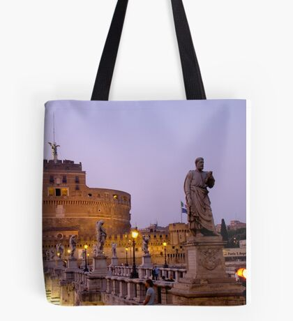 Angels in the Evening Tote Bag