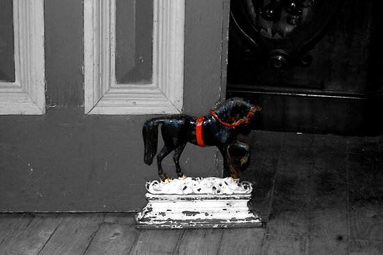 Doorstop Pony by Michelle Crouch