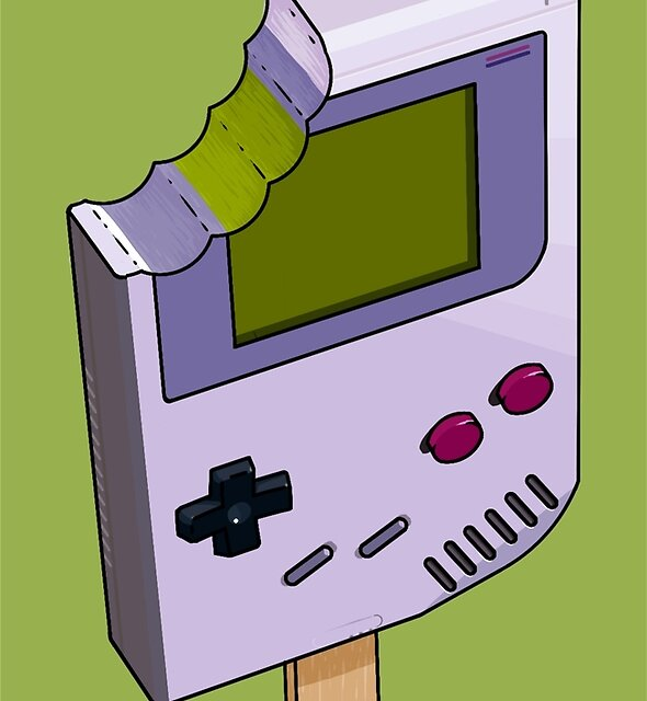 Game Boy Icicle by crabro