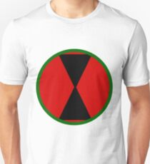 Logo of the 7th Infantry Division, U.S. Army Unisex T-Shirt