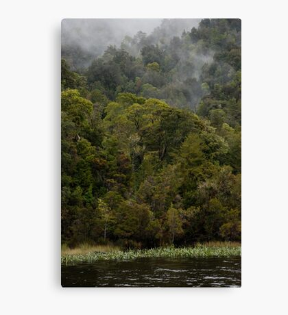 the edge of the derwent Canvas Print