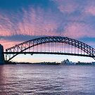 Blush - Sydney Harbour.Sydney Australia (30 Exposure HDR Panorama) - The HDR Experience by Philip Johnson
