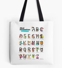 The Real Housewives Alphabet Tote Tote Bag