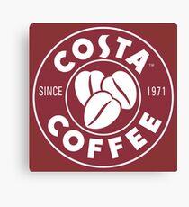 Costa Coffee Canvas Prints Redbubble