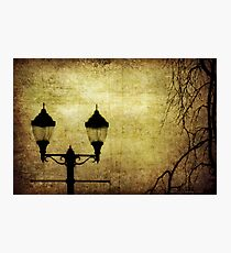 Street Lanterns Photographic Print